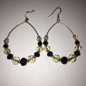 Jewelry - ⭐️ 3 for $10 - Beaded hoop earrings